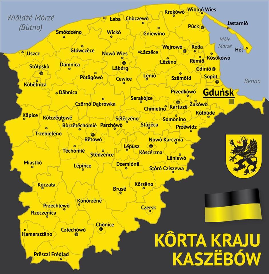Kaszuby - piękny region nieopodal lotniska Rębiechowo w Gdańsku