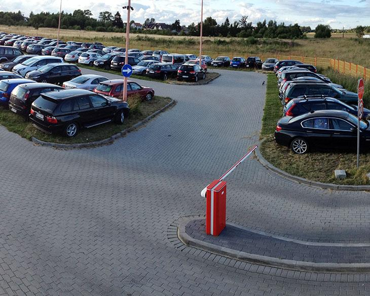 Parking lotnisko Gdańsk - 2