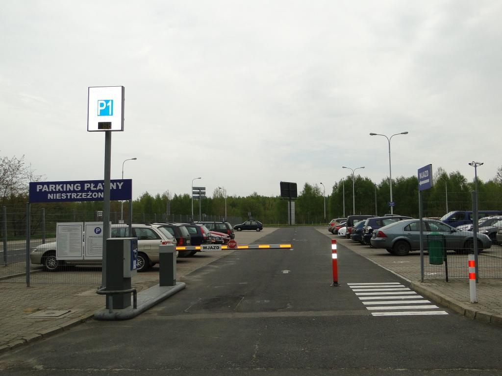 Parking lotnisko Łódź