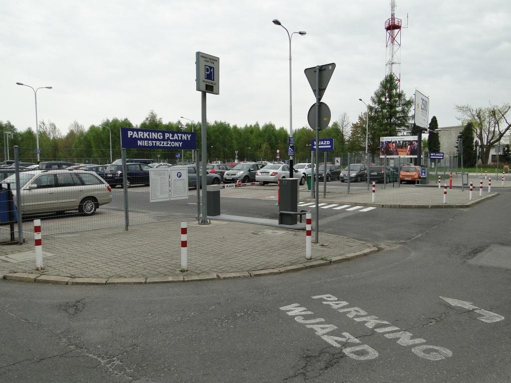Parking lotnisko Łódź - 3