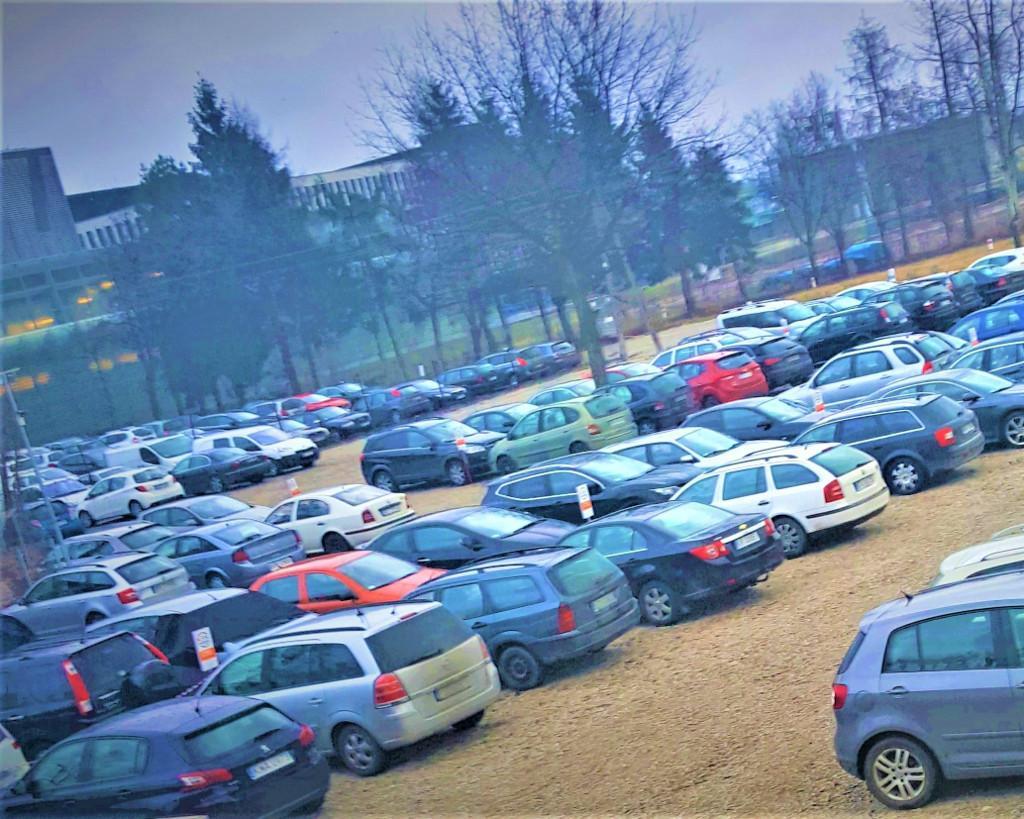 Parking lotnisko Kraków