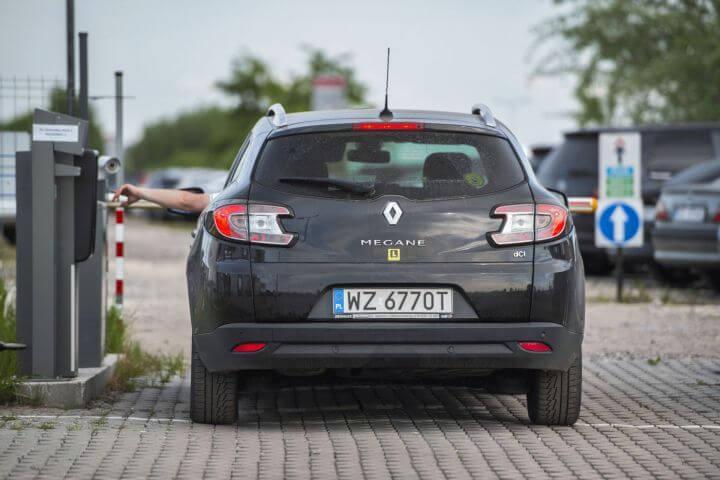 Parking lotnisko Warszawa - 5